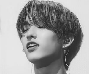 black and white, Jae, and 190907 image