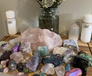 aesthetic, crystal, and crystals image
