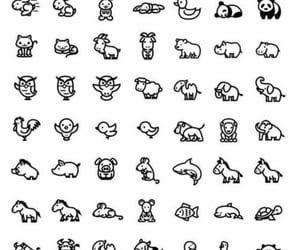 animals, friends tattoo, and minimalist image