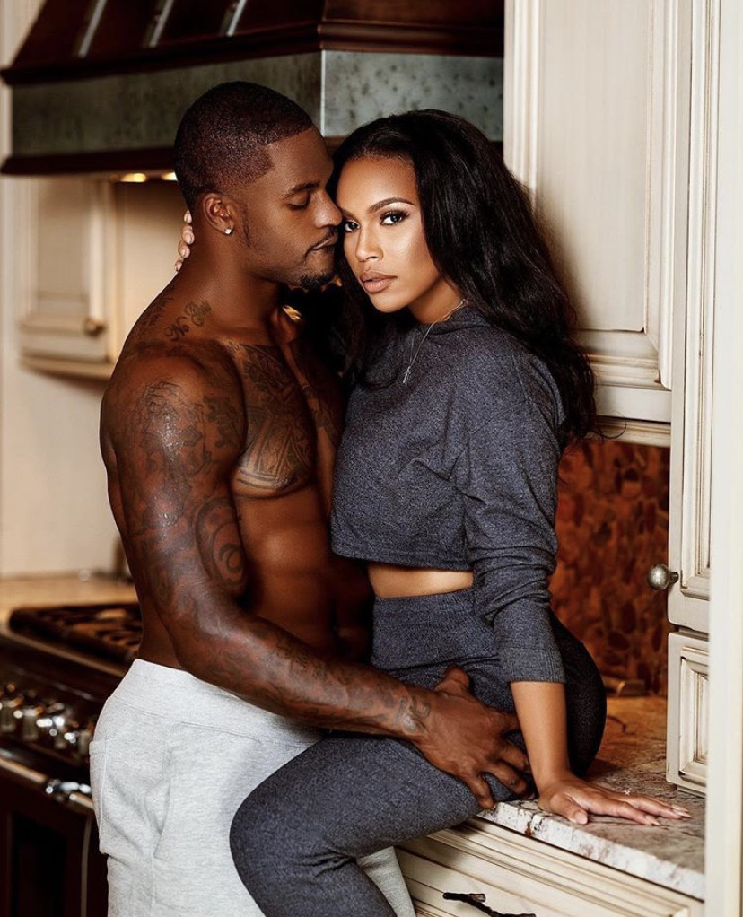 black, love, and couple image