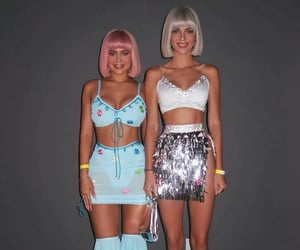 kendall jenner, kylie jenner, and Halloween image