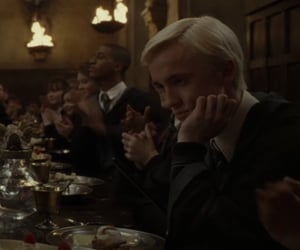 draco malfoy, half blood prince, and harry potter image