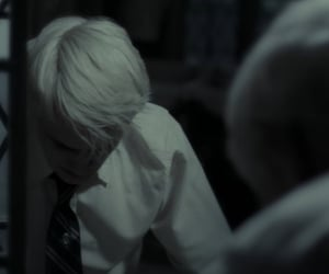 blonde, draco malfoy, and half blood prince image