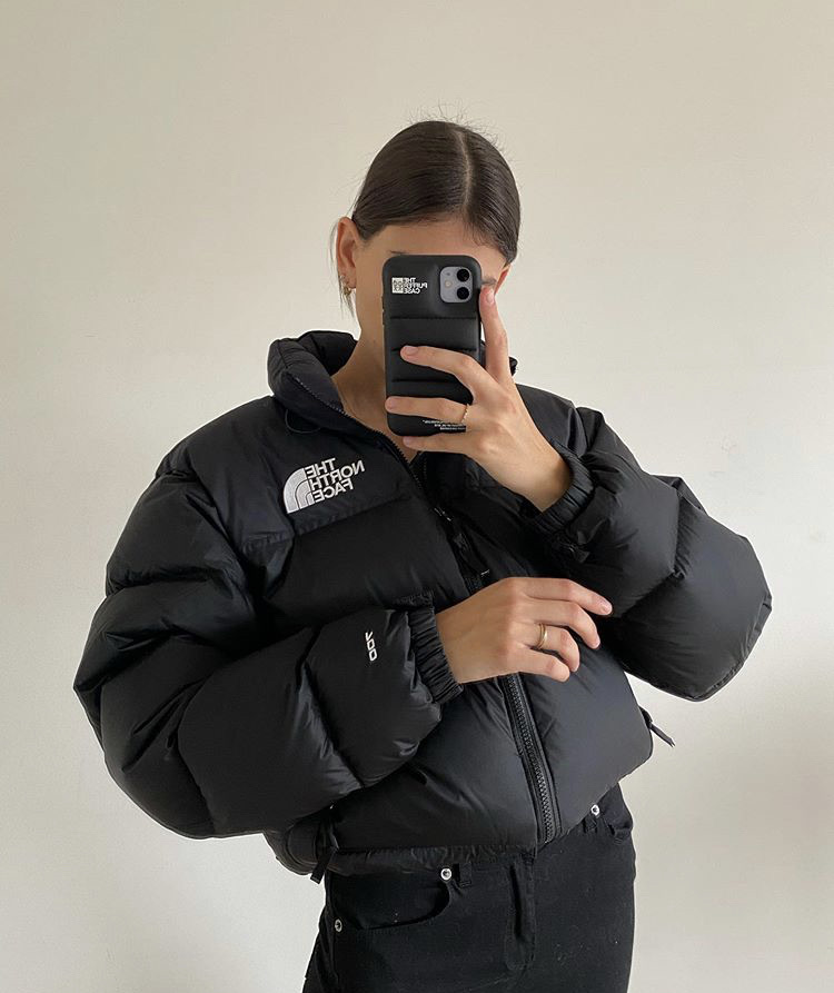 streetwear, everyday look, and the north face image