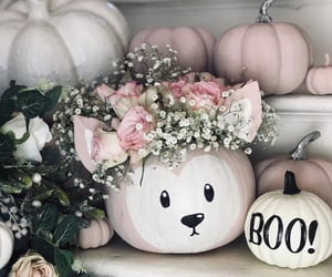 pumpkin, decoration, and Halloween image