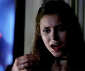 gif, Nina Dobrev, and the vampire diaries image