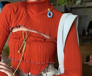 fashion, indie, and sewing image