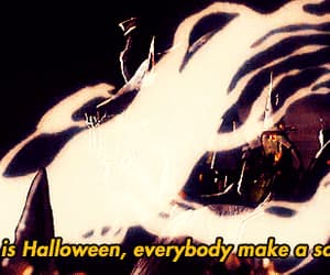 autumn, Halloween, and ghost image