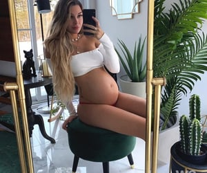 baby, belly, and beautiful image