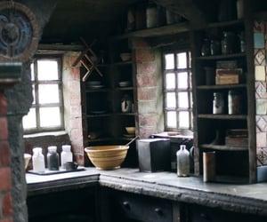 castle, hogwarts, and magic image