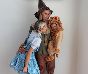 baby, halloween goals, and family image