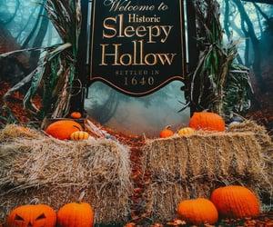 autumn, Halloween, and sleepy hollow image