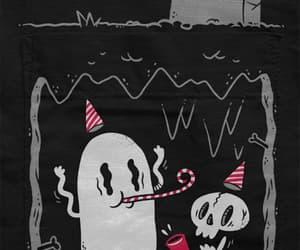 ghost, gif, and Halloween image