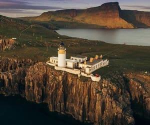 isle of skye, neist point lighthouse, and west coast of scotland.uk image