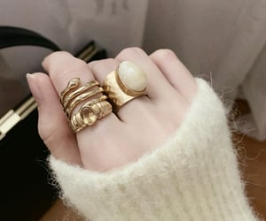 accessories, gold, and gold jewelry image