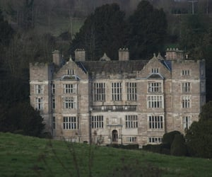 castle, dark, and dark academia image