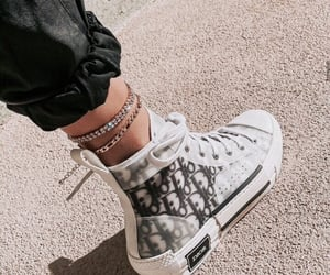 dior, shoes, and sneakers image