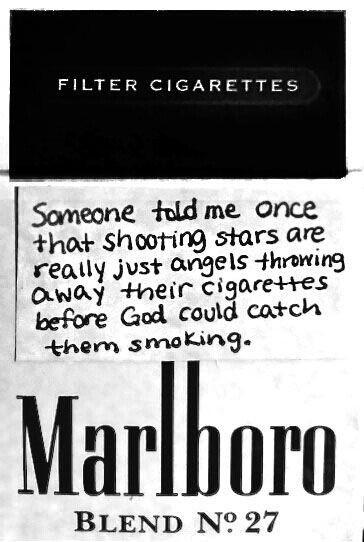 cigarette, angel, and marlboro image