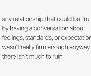 feelings, ruin, and conversation image