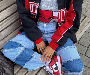 chicago, jeans, and nike image