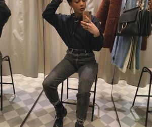 aesthetics, fashion, and melanin image