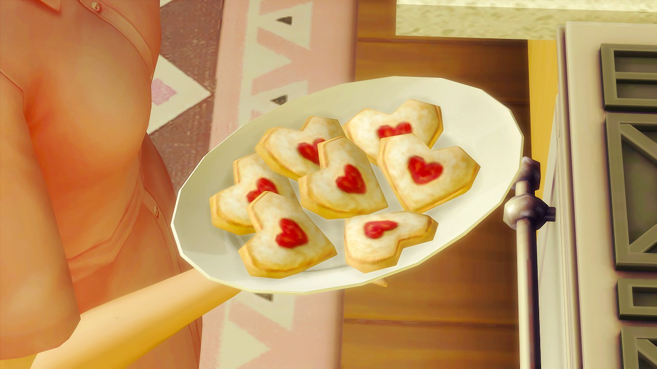 game, recipe, and sims image