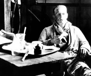 behind the scenes and Frankenstein image