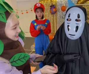 faceless, Halloween, and yves image