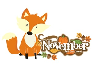 november, month, and new month image