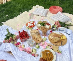 aesthetic, picnic, and cute image