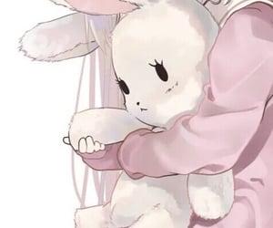 anime, icon, and bunny image