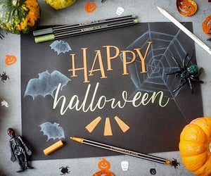 bat, ghost, and Halloween image