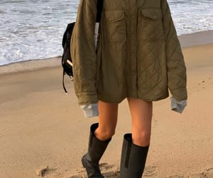 beach day, fashion, and Prada image