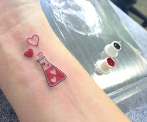 tattoo, pulse, and chemistry image