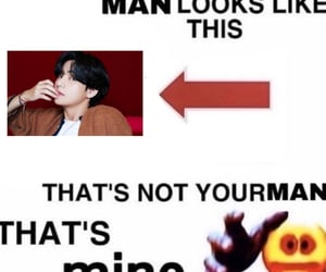 meme, bts, and kpop image