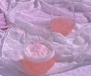 aesthetics, drinks, and glitter image