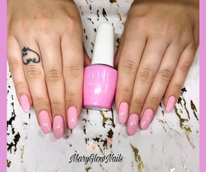 nails, pink, and pr image