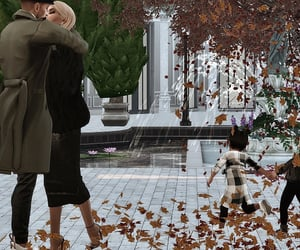 autumn, computer game, and sims 4 image