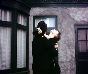 love, couple, and cigarette image