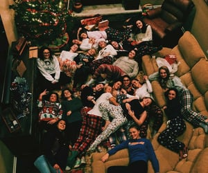 christmas, friendship, and friends image
