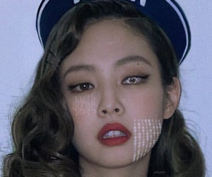 jennie, cyber, and kpop image