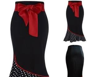 christmas, fashion, and skirt image