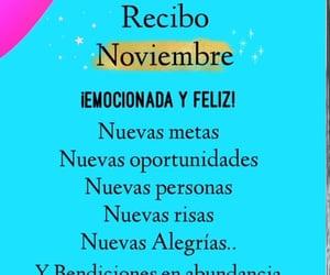 feliz, risas, and noviembre image