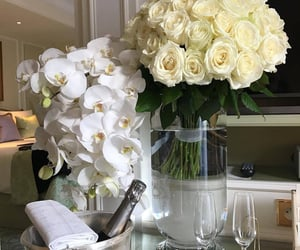 flowers, luxury, and nails image