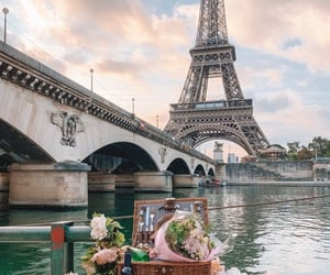 theme, aesthetic, and eiffel tower image