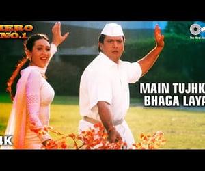 video, bollywood song, and govinda image