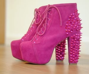 girly, jeffrey campbell, and shoes image