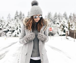 chic, cold, and winter image