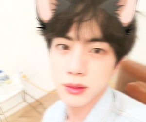 bts, aesthetic, and seokjin image