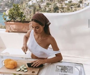 cooking, fashion, and girl image